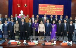 Chủ tịch Quốc hội Lào thăm và làm việc tại tỉnh Bạc Liêu