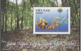 """Phát hành bộ tem đặc biệt """"Sâm Ngọc Linh (Sâm Việt Nam)"""" tại Quảng Nam"""