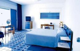 Thổi bay cảm giác nóng nực trong nhà bằng sắc màu biển cả