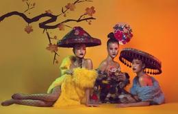 Bộ ba quán quân Vietnam's Next Top Model quyến rũ trong bộ ảnh Tết