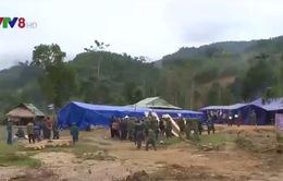 Quân khu 5 dựng nhà cho đồng bào vùng sạt lở Nam Trà My