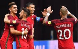 Cúp Liên đoàn các châu lục 2017: ĐT Bồ Đào Nha đứng đầu bảng A