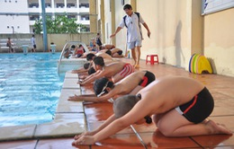 Mục tiêu đến năm 2020, 80% trẻ được học bơi