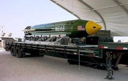 Mỹ thả bom khủng xuống Afghanistan