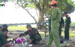 Quảng Trị: Sáng kiến bãi hủy bom mìn bằng giá sắt