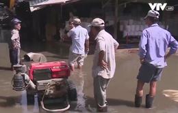 200 hộ dân TP.HCM loay hoay bơm nước chống ngập