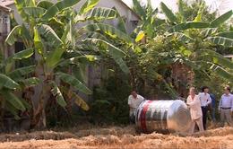 Trao tặng bồn chứa nước sạch cho người dân Tiền Giang