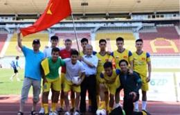 Việt Nam giành giải Ba Giải bóng đá Thượng viện Czech