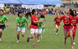 Chương trình bóng bầu dục Pass it back - cho đi và nhận lại đến Việt Nam