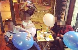 Hà Nội: Nghiêm cấm học sinh sử dụng bóng cười