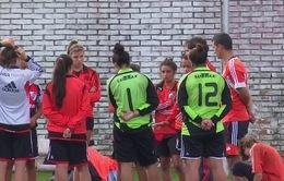 Bóng đá hỗn hợp nam nữ ở Argentina