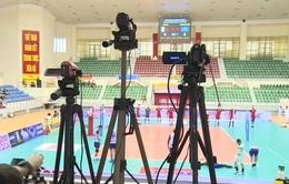 Ứng dụng công nghệ tại giải bóng chuyền các CLB nam châu Á 2017