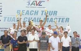 Đội Trung Quốc 1 vô địch Giải bóng chuyền bãi biển nữ châu Á - Tuần Châu 2017