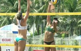 Ấn tượng Giải bóng chuyền bãi biển nữ châu Á Tuần Châu 2017