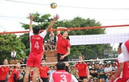Tình yêu bóng chuyền ở làng quê Hải Dương