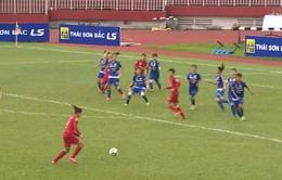 CLB Phong Phú Hà Nam vươn lên dẫn đầu trên bảng xếp hạng
