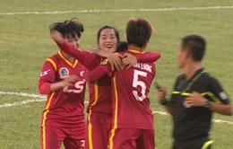 CLB TP.Hồ Chí Minh I vươn lên dẫn đầu giải bóng đá nữ VĐQG 2017