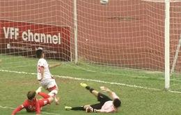 CLB Phong Phú Hà Nam giành chiến thắng tối thiểu