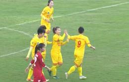 Vòng 11 giải bóng đá nữ VĐQG 2017: CLB Phong Phú Hà Nam giành thắng lợi nhẹ nhàng