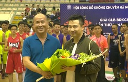 Những chuyển biến của giải bóng rổ không chuyên Hà Nội 2017