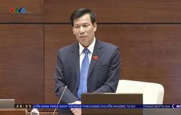 Bộ trưởng Bộ Văn hóa, Thể thao và Du Lịch Nguyễn Ngọc Thiện trả lời chất vấn của đại biểu Quốc hội về tình trạng đuối nước