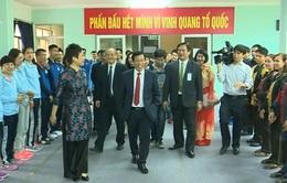 Bộ trưởng Bộ VH-TT và Du lịch thăm Trung tâm HLTTQG Hà Nội