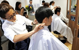Cắt tóc nhanh kiểu Nhật Bản đến New York