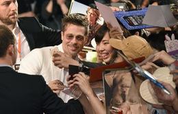Nụ cười đã trở lại trên gương mặt Brad Pitt