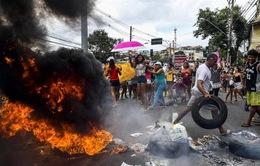 Brazil: Cướp bóc, bạo loạn bùng phát vì cảnh sát đình công