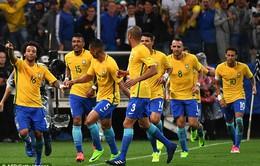 BXH FIFA: Đánh bật Argentina, Brazil trở lại ngôi số 1 thế giới