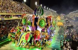 Các trường dạy samba tại Brazil chuẩn bị cho Carnival 2017