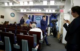 Mỹ: Nhà Trắng loại CNN khỏi buổi họp báo riêng