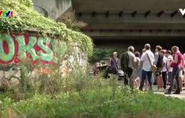 Giải mã những hình vẽ trên tường ở Brussels, Bỉ