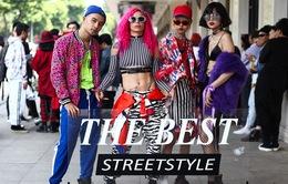 """Tuần lễ thời trang quốc tế Việt Nam Thu - Đông 2017: Các tín đồ thời trang """"nổi loạn"""" với màu tóc tại """"The best street style"""""""