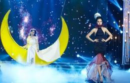 Sài Gòn đêm thứ 7: Đồng Lan vắt vẻo trên trăng, hòa mình cùng thời trang Quỳnh Paris