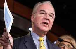 Bộ trưởng Bộ Y tế Mỹ từ chức vì bê bối thuê máy bay đi công tác