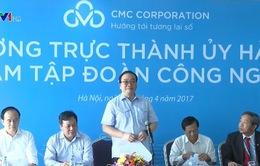 Bí thư Thành ủy Hà Nội làm việc với Tập đoàn CMC