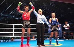Thắng nhà vô địch thế giới, Bùi Yến Ly giành HCV Muay tại ĐHTT Thế giới