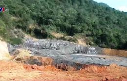 Vụ vỡ bể lắng quặng ở Nghệ An: Khó tránh nguy cơ ô nhiễm môi trường