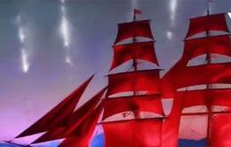 Lễ hội Cánh buồm đỏ thắm tại Saint Petersburg