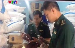 Quảng Trị thu giữ lượng lớn hàng nhập lậu qua biên giới