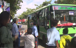 TP.HCM tăng 1.000 chuyến xe bus phục vụ dịp nghỉ lễ 30/4