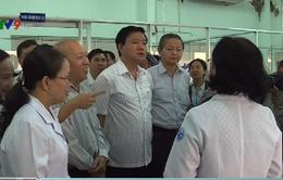 Bí thư Thành ủy TP.HCM thăm và khảo sát Bệnh viện huyện Bình Chánh