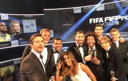 Đội hình tiêu biểu năm 2016 của FIFA: Real, Barca thống trị với 10/11 vị trí
