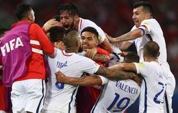 Cúp Liên đoàn các châu lục 2017: ĐT Chile 2-0  ĐT Cameroon: trận đấu nhiều tranh cãi