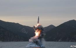 Triều Tiên đang chuẩn bị thử tên lửa phóng từ tàu ngầm?