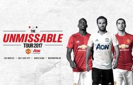 Hé lộ kế hoạch du đấu Hè 2017 của Man Utd
