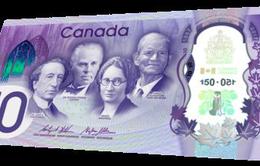 Canada phát hành mẫu tiền đặc biệt kỷ niệm 150 thành lập Liên bang