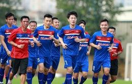Xuân Trường sẽ đá chính ở trận giao hữu với Đài Bắc Trung Hoa?