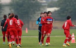 Bóng đá nữ: ĐT nữ Việt Nam tập trung chuẩn bị cho Asian Cup 2018